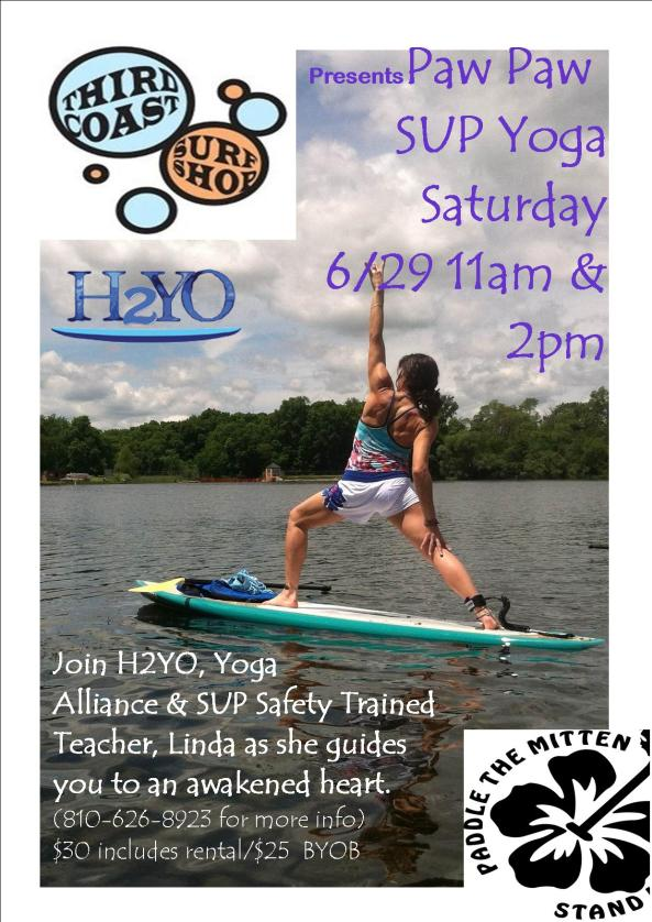 PawPaw River SUP Yoga